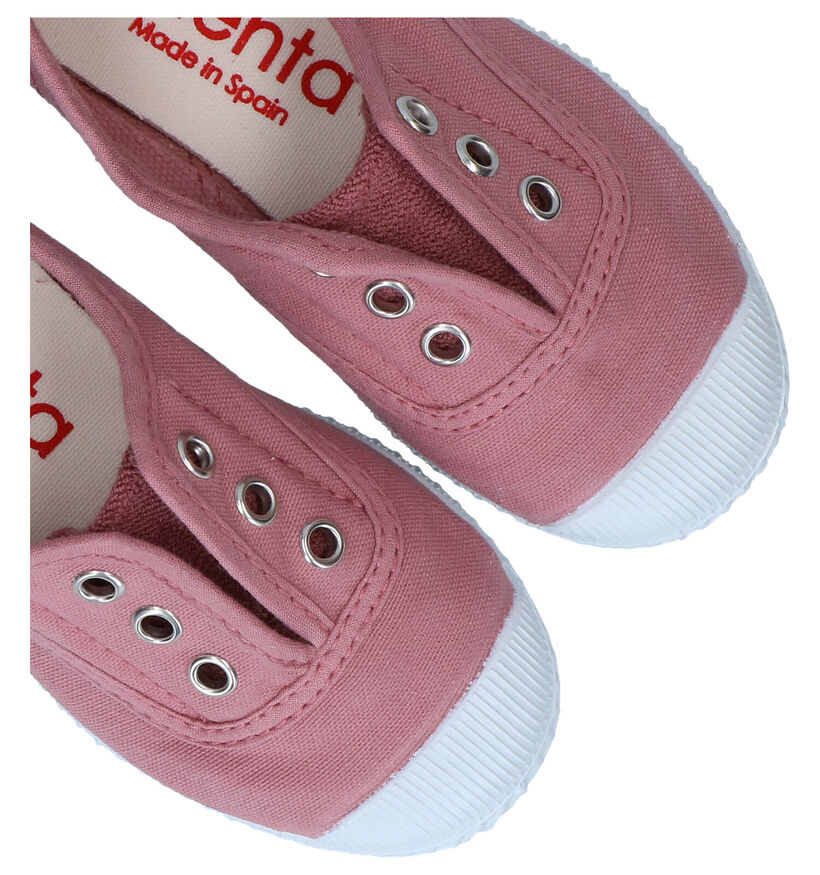 Cienta Roze Sneakers in stof (287269)
