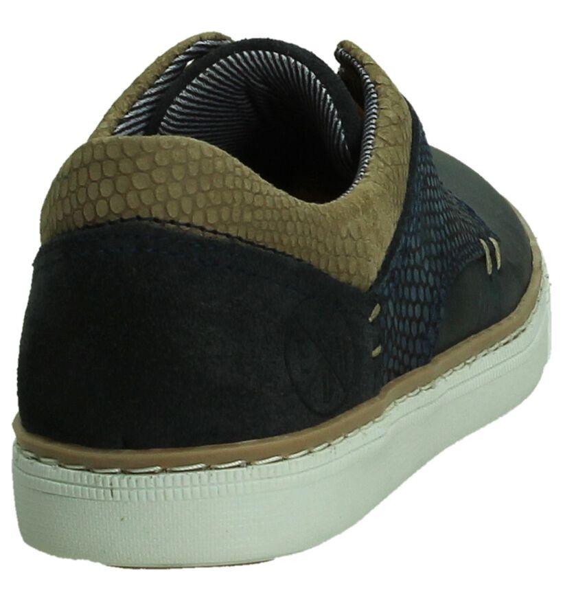 Bullboxer Chaussures basses en Bleu foncé en cuir (192308)