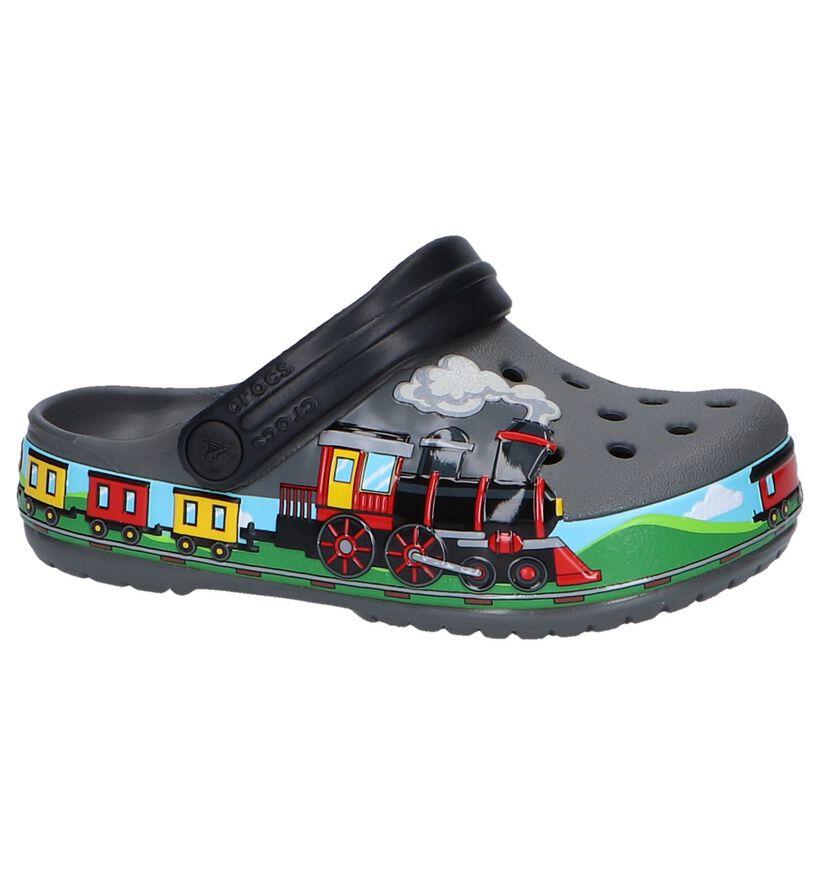 Grijze Slippers Crocs Funlab Train Band in kunststof (245201)