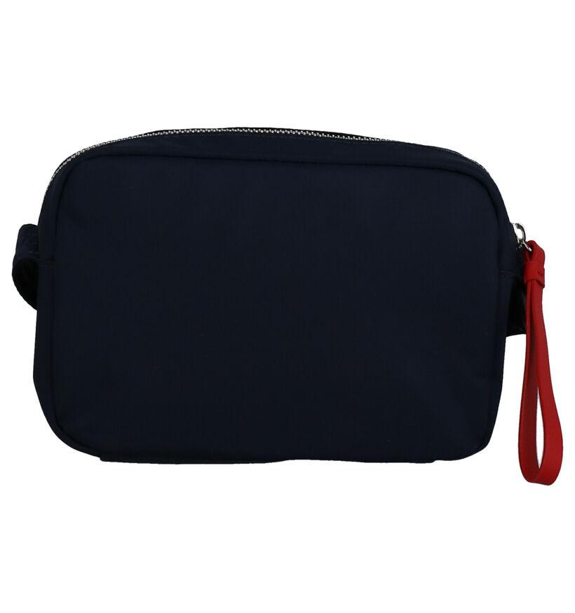 Tommy Hilfiger Sac porté croisé en Bleu foncé en textile (264572)