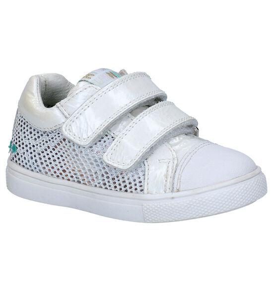 Bunnies Loetje Louw Chaussures à velcro en Blanc