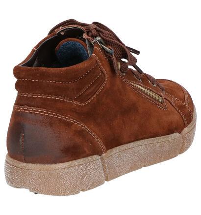 Ara High Soft Bruine Boots in daim (260850)