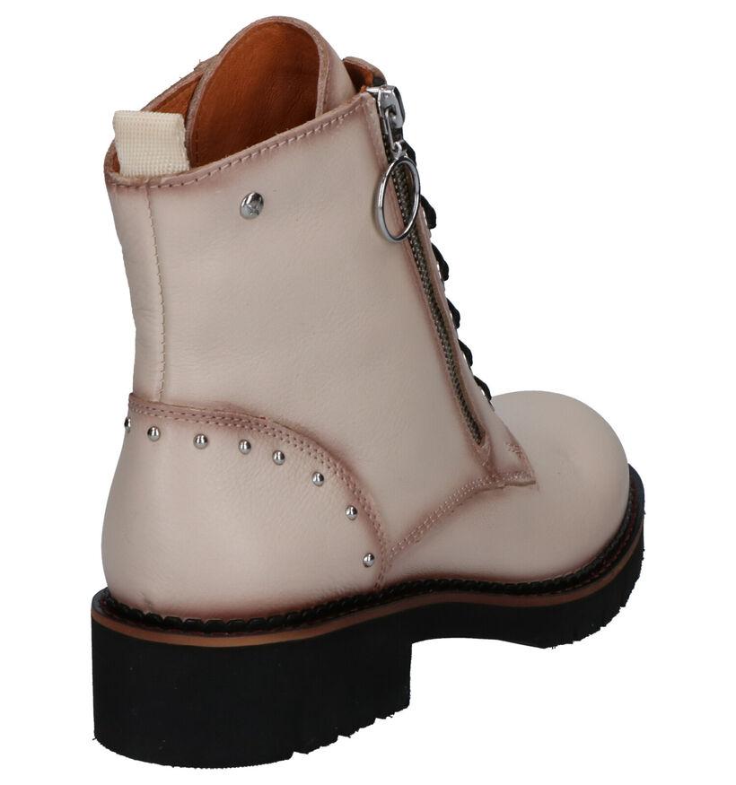Pikolinos Vicar Beige Boots in leer (261449)