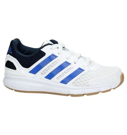 adidas Baskets basses en Blanc en simili cuir (162906)