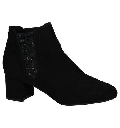 Marco Tozzi Bottillons en Noir en textile (222090)