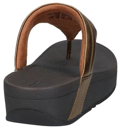 Zwarte Slippers FitFlop Lottie Padded , Brons, pdp