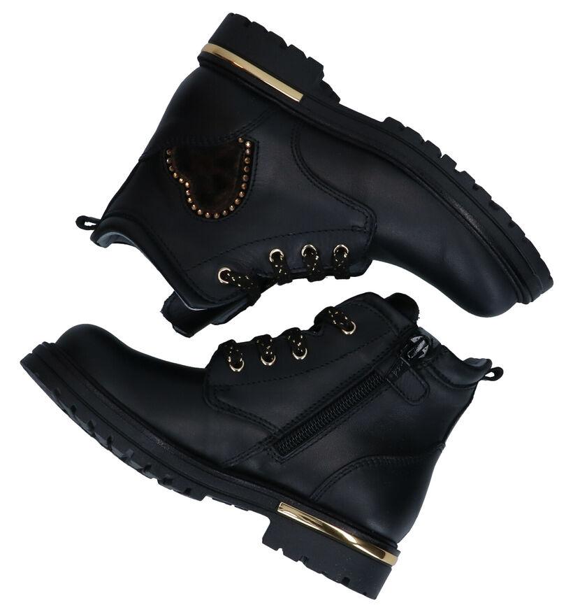 NeroGiardini Bottines en Noir en cuir (282267)