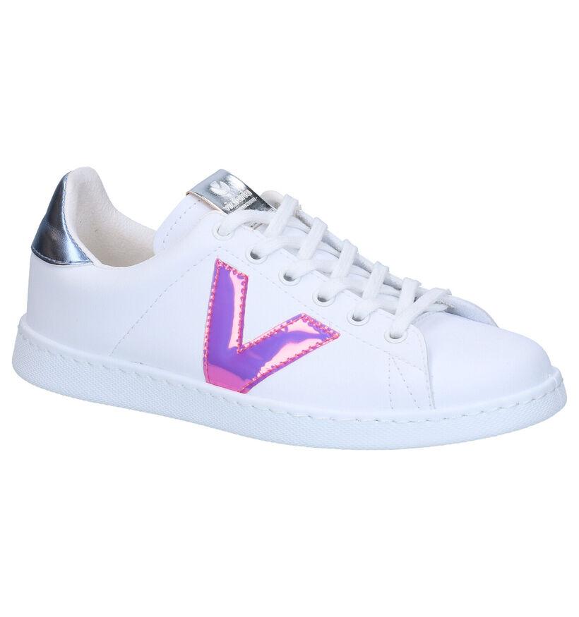 Victoria Witte Sneakers in kunstleer (275076)