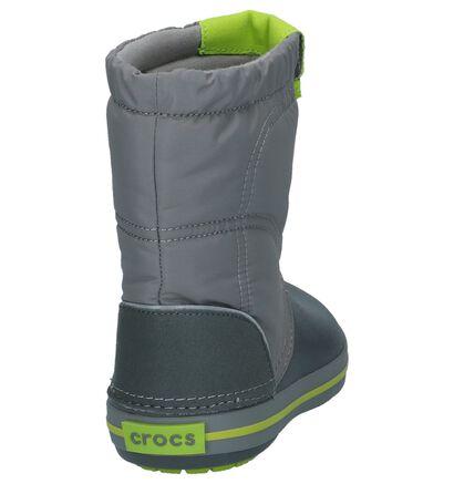 Crocs Crocband Lodgepoint Licht Blauwe Snowboots, Grijs, pdp