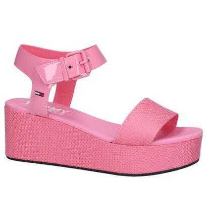 Roze Sandalen Tommy Hilfiger in stof (241755)