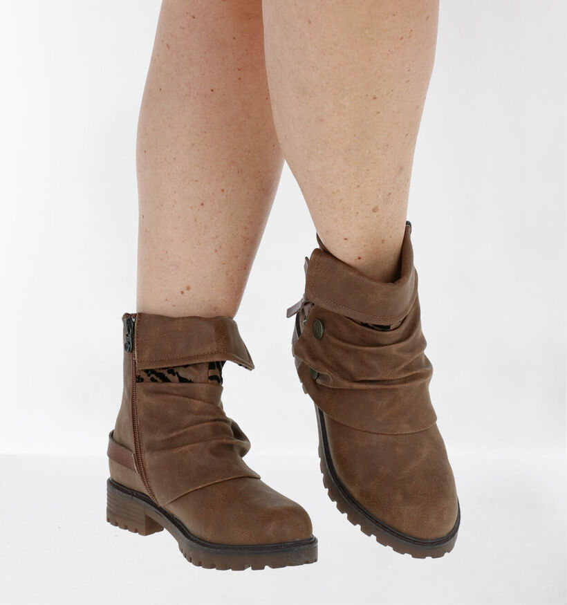 Blowfish Malibu Cognac Vegan Boots in kunstleer (284695)