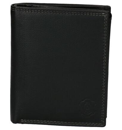 Cloverfield Zwarte Portemonnee in leer (263680)