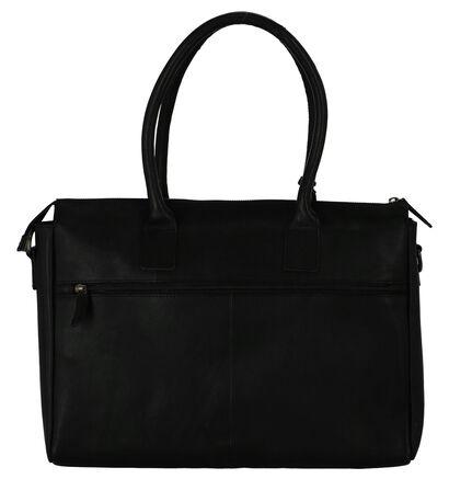Burkely Sacs d'ordinateur portable en Noir en cuir (235333)