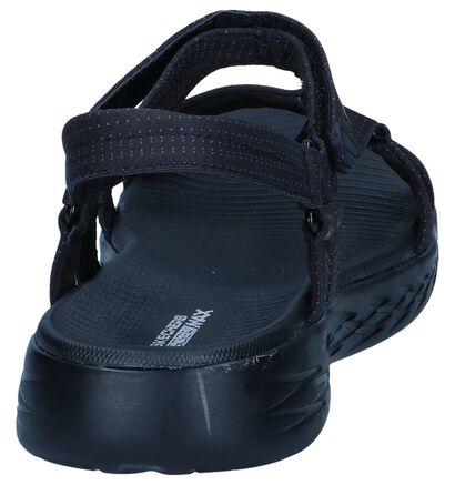 Zwarte Sandalen Skechers On-The-Go, Zwart, pdp