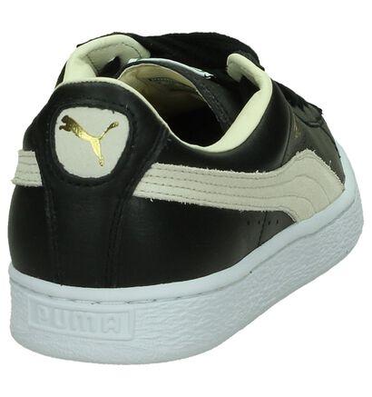 Puma Basket Classic Lage Sportieve Sneakers Zwart, Zwart, pdp