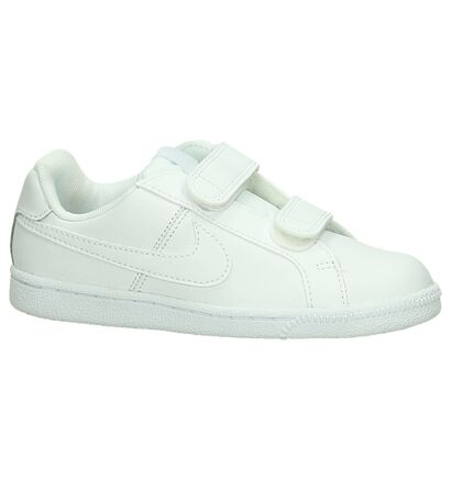 Witte Sneakers Nike Court Royale in leer (198119)