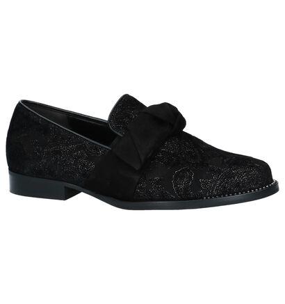 Gabor Chaussures slip-on en Noir en daim (231244)