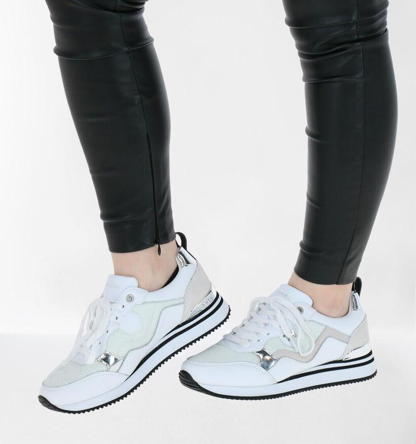 Tommy Hilfiger Feminine Active City Zwarte Sneakers in leer (276232)