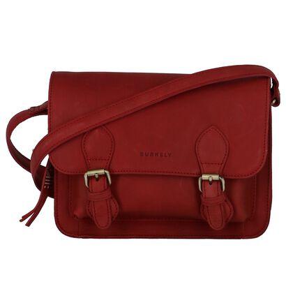 Burkely Sacs porté croisé en Rouge en cuir (249374)