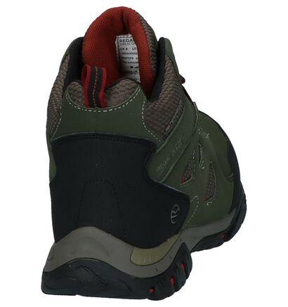 Regatta Holcombe Chaussures de Randonnée en Marron, Vert, pdp