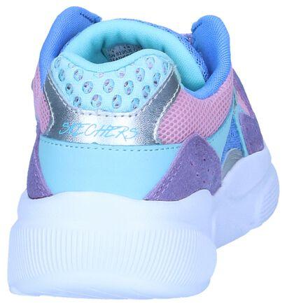Skechers Memory Foam Baskets basses en Multicolore en textile (245640)
