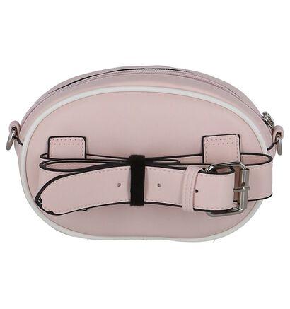 Roze Belt Bag Dolce C. in leer (255559)