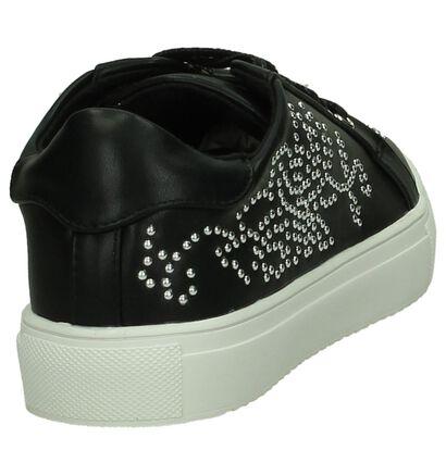 Youh! Zwarte Sneakers in imitatieleer (203649)