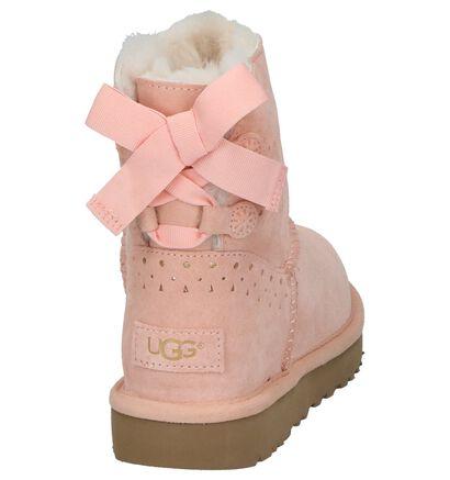 UGG Dae Sunshine Roze Geklede Boots in daim (206399)
