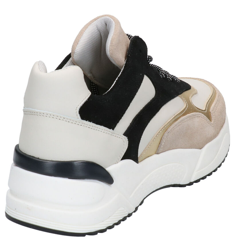 Bullboxer Zwart/Bronzen Sneakers in lakleer (281546)