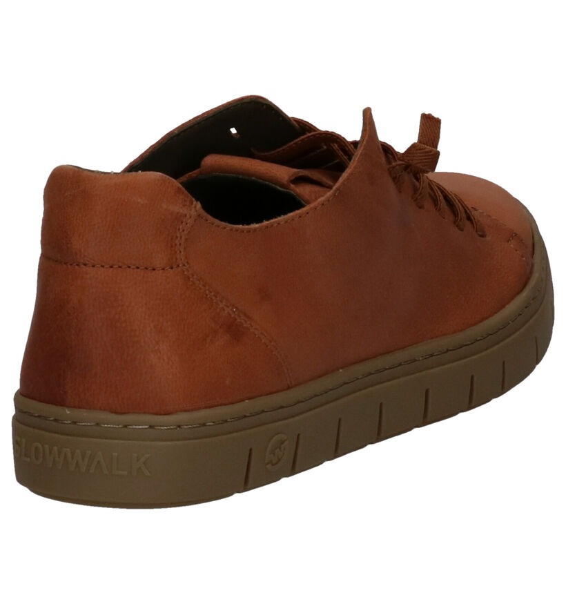 Slowwalk Kraz Doran Chaussures Basses en Cognac en cuir (257373)
