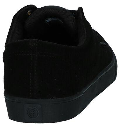 Element Topaz C3 Chaussures de skate en Noir en daim (254899)