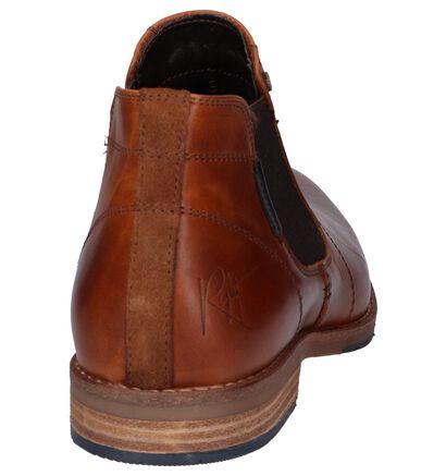 Cognac Chelsea Boots Bullboxer in leer (252801)