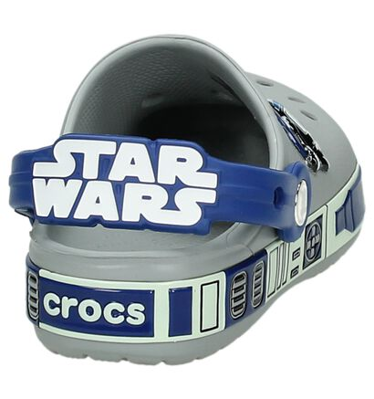 Grijze Star Wars Slipper Crocs, Grijs, pdp