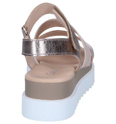 Metallic Roze Sandalen Gabor Best Fitting, Roze, pdp