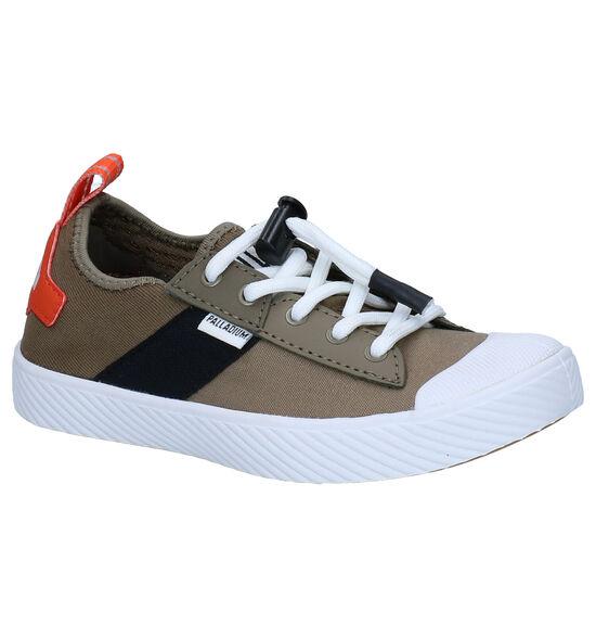 Palladium Pallaphoenix Kaki Slip-on Sneakers