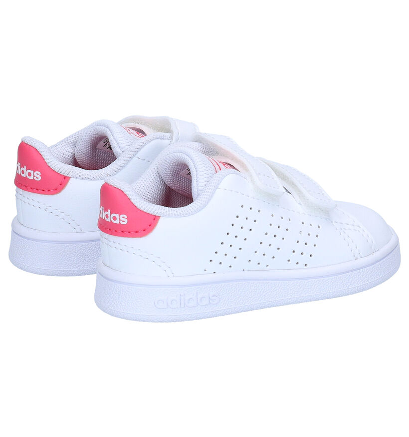 adidas Advantage I Witte Sneakers in kunstleer (252509)