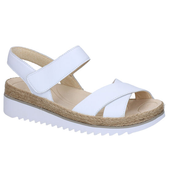 Gabor Best Fitting Witte Sandalen