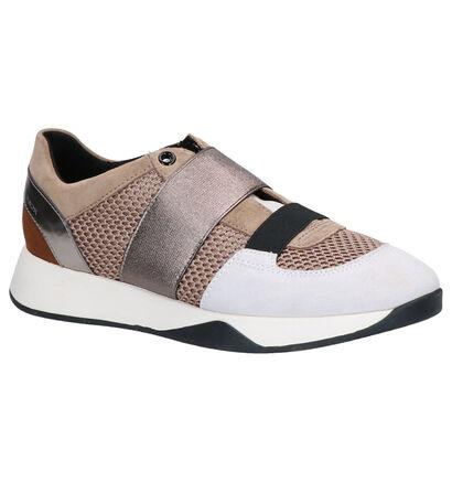 Geox Fuchsia Sneakers in leer (253658)