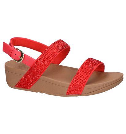FitFlop Sandales à talons  (Noir), Rouge, pdp