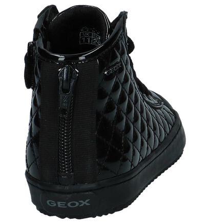 Geox Baskets hautes en Noir en simili cuir (223138)
