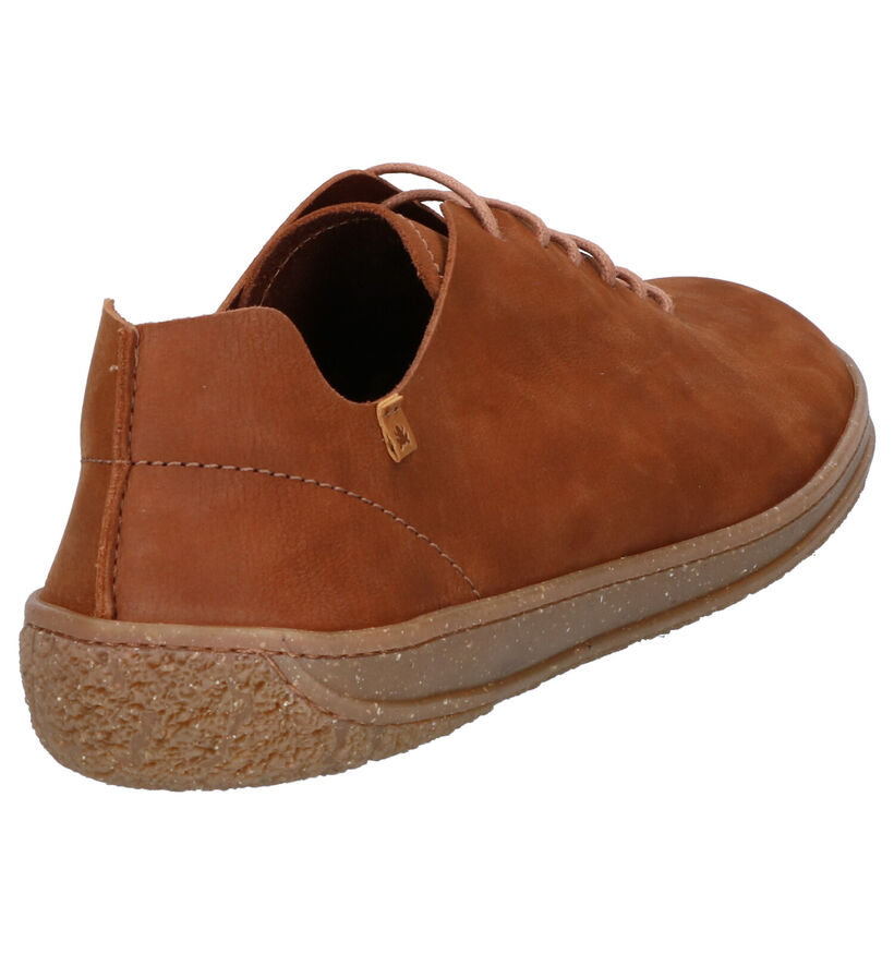 El Naturalista Amazonas Chaussures à Lacets en Cognac en nubuck (270358)