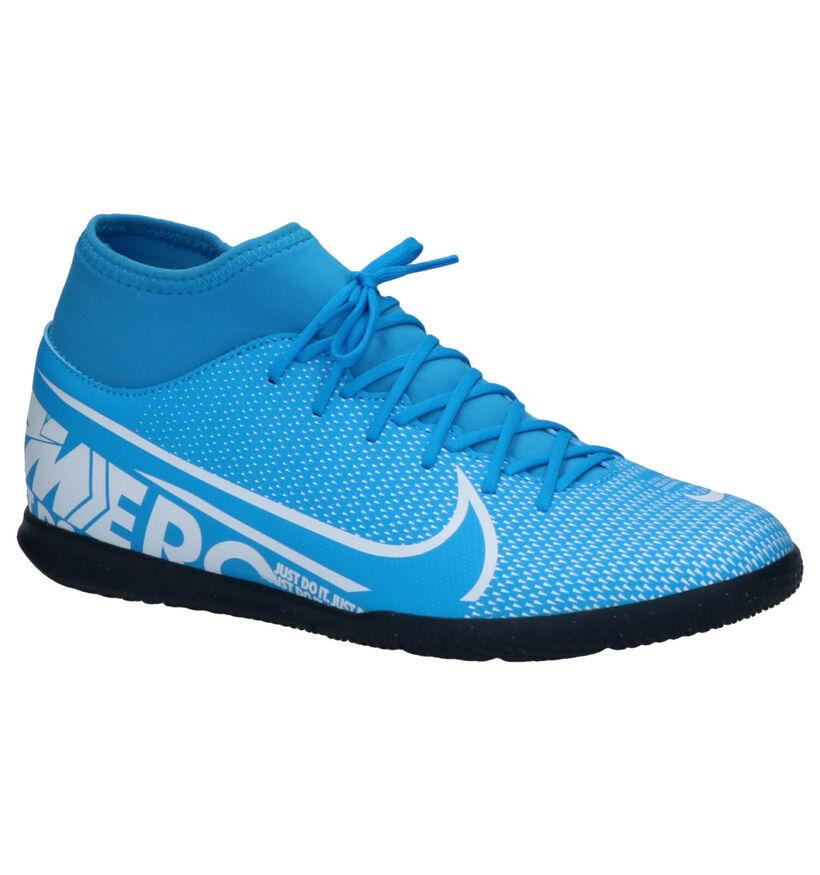 Nike Superfly 7 Club Chaussures de Foot en Bleu en simili cuir (254048)