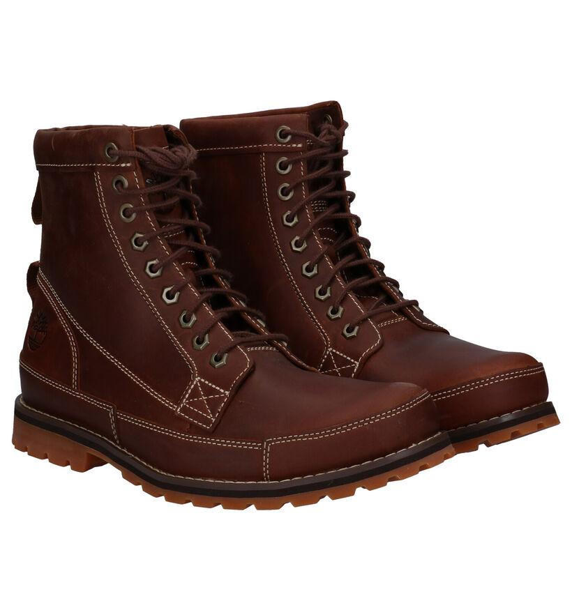 Timberland Originals 6 Inch Boot Cognac in leer (278937)