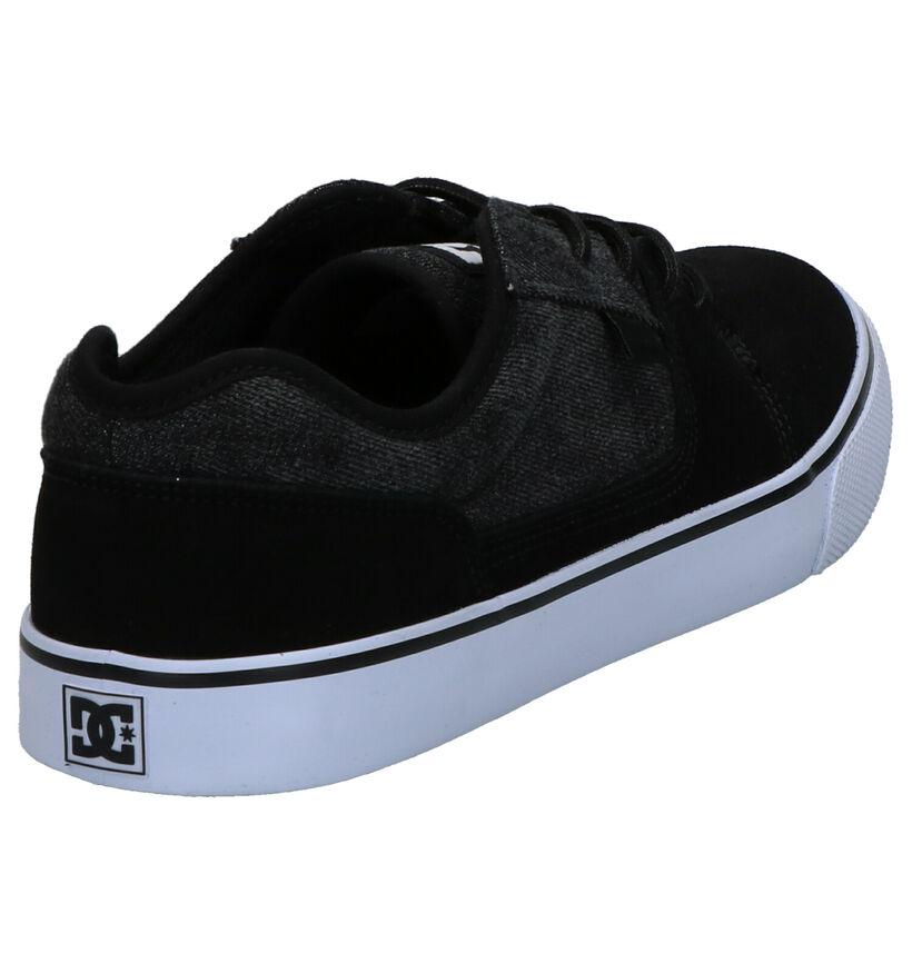 DC Shoes Tonik Zwarte Skateschoenen in nubuck (267985)