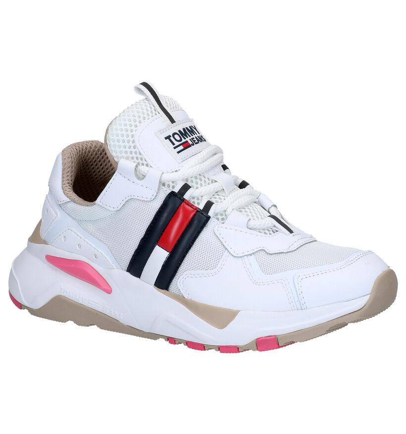 Tommy Hilfiger Witte Sneakers in kunstleer (276238)