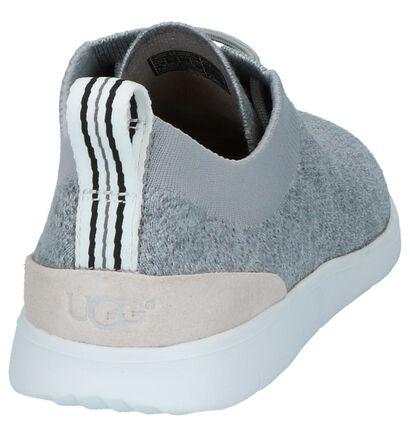 Grijze Lage Sportieve Sneakers UGG Feli Hyperweav, Grijs, pdp