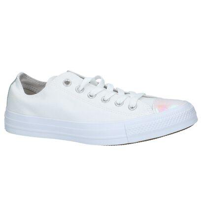 Zwarte Sneakers Converse Chuck Taylor AS OX in stof (238369)