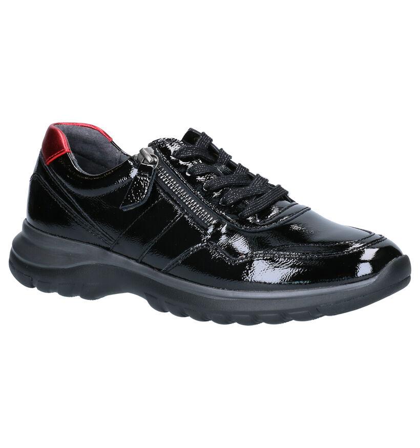 Gabor OptiFit Chaussures basses en Noir en verni (260090)