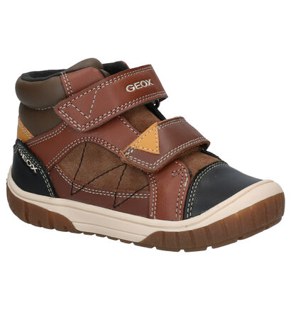 Geox Bruine Boots in daim (254523)