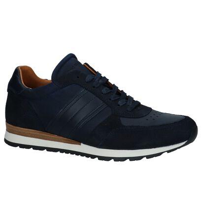 Tommy Hilfiger Chaussures basses en Bleu foncé en cuir (225231)